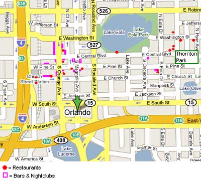 Orlando Maps OrlandoVacationus